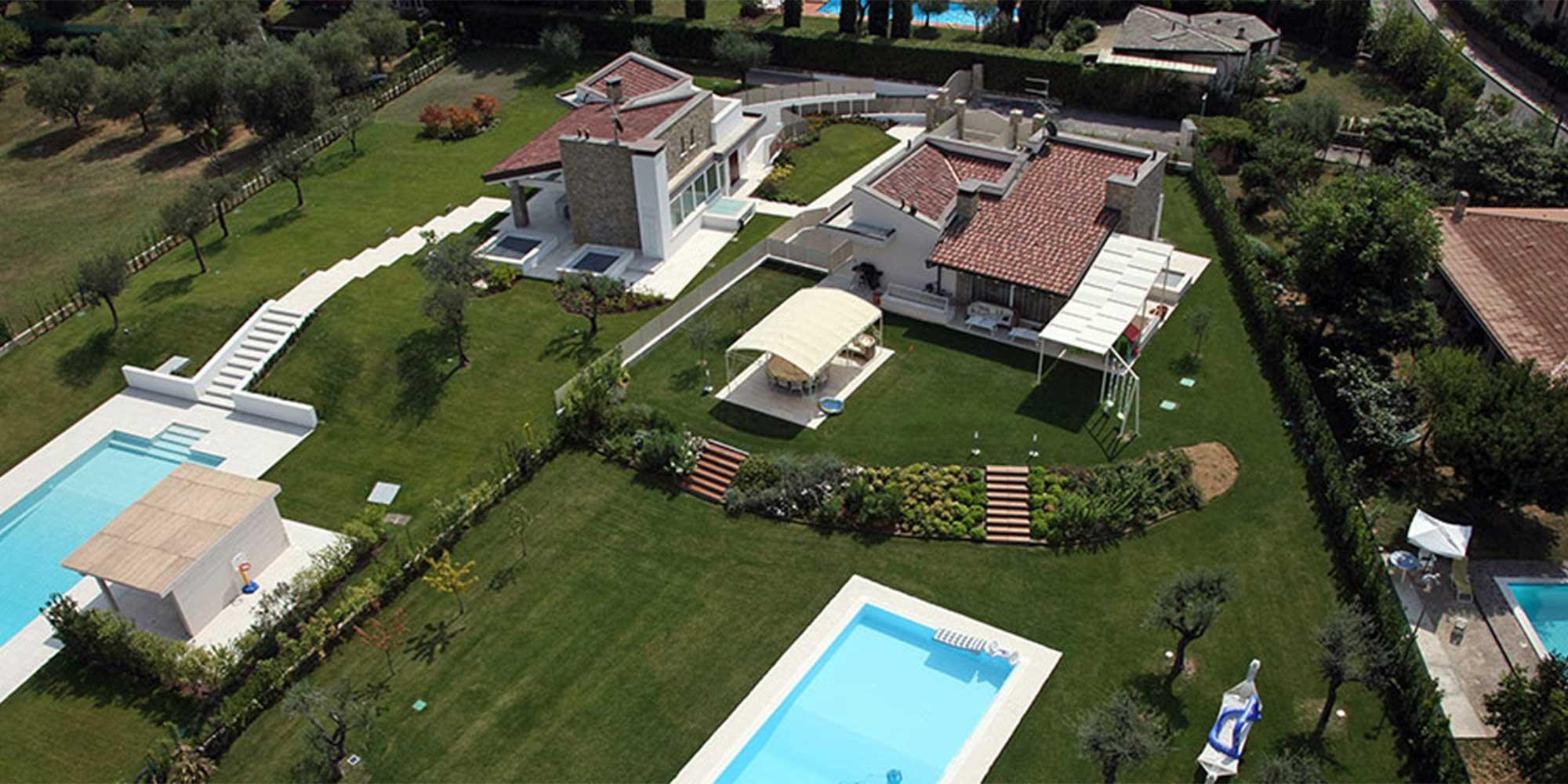 Villa la Rocca, Lago di Garda
